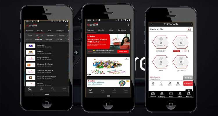 Airtel Xstream (Airtel TV) For iphone