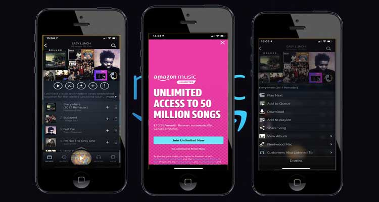 Amazon Music For iphone