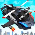 Flying Police Helicopter Car Transform Robot Games APK