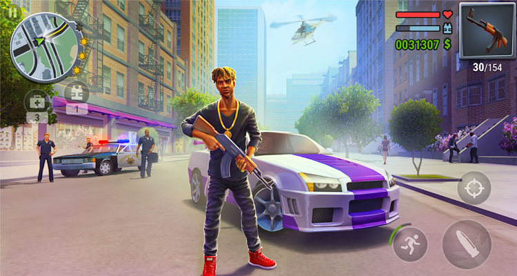 Gangs Town Story - action open-world shooter APK