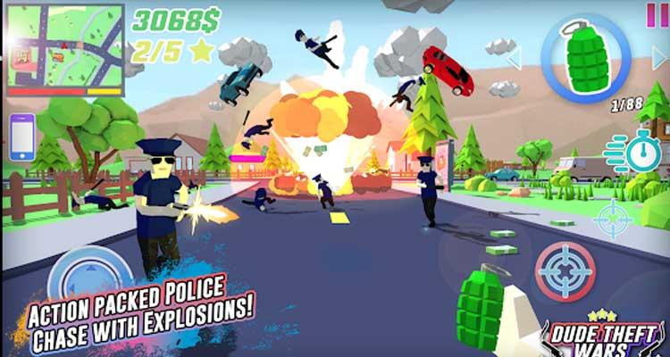 Dude Theft Wars: Online FPS Sandbox Simulator BETA APK